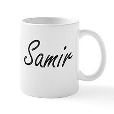 Samir Artistic Name Design Mugs