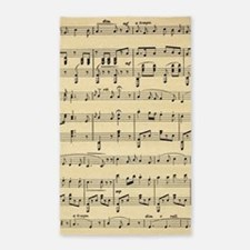 sheet music Area Rug