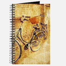 romantic street vintage bike Journal