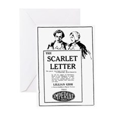 Lillian Gish Scarlet Letter Greeting Card