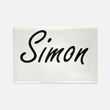 Simon Artistic Name Design Magnets
