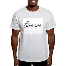 Sincere Artistic Name Design T-Shirt