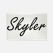 Skyler Artistic Name Design Magnets