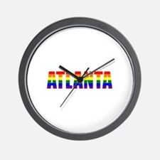 Atlanta Pride Wall Clock