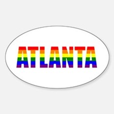 Atlanta Pride Oval Decal