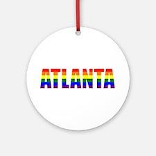 Atlanta Pride Ornament (Round)