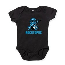 Rocktopus - Octopus Rock n' Roll Baby Bodysuit
