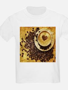 romantic modern coffee T-Shirt