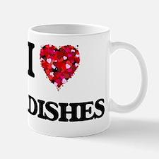 I Love Radishes Mug