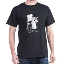 Elegant Just Married T-Shirt