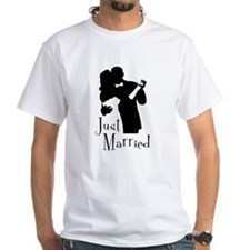 Elegant Just Married Shirt
