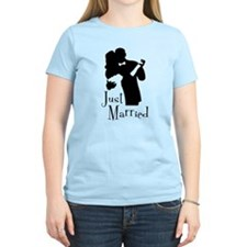 Elegant Just Married T-Shirt