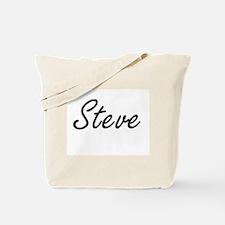 Steve Artistic Name Design Tote Bag