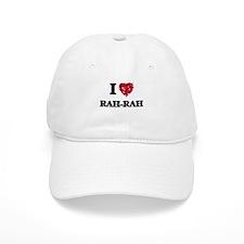 I Love Rah-Rah Baseball Cap