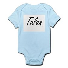 Talan Artistic Name Design Body Suit