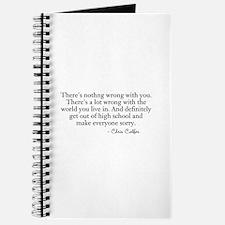 Nothing Wrong Journal