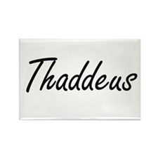 Thaddeus Artistic Name Design Magnets
