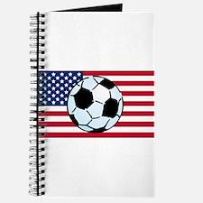 USA Soccer Flag Journal