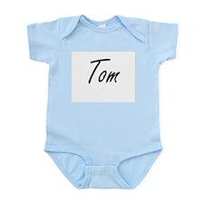 Tom Artistic Name Design Body Suit