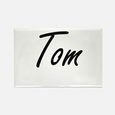 Tom Artistic Name Design Magnets