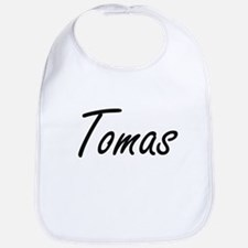 Tomas Artistic Name Design Bib
