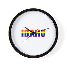 Idaho Pride Wall Clock