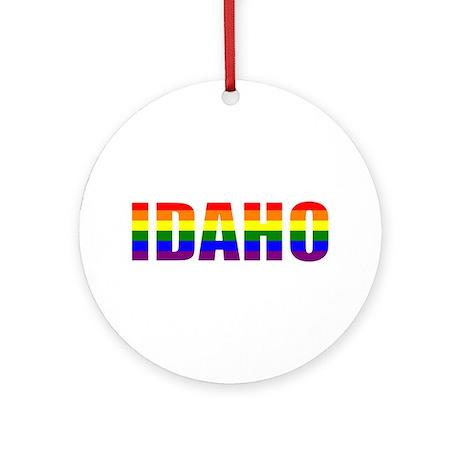 Idaho Pride Ornament (Round)