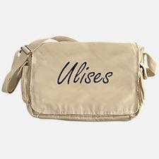 Ulises Artistic Name Design Messenger Bag