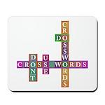 Do crosswords Mousepad
