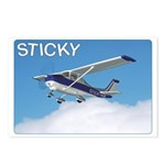 Postcards (package Of 8) - Sticky Flying