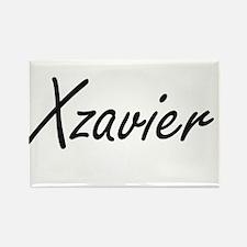 Xzavier Artistic Name Design Magnets