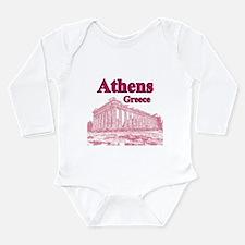 Athens Long Sleeve Infant Bodysuit