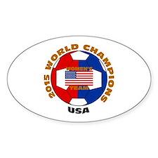 2015 World Champions Stickers