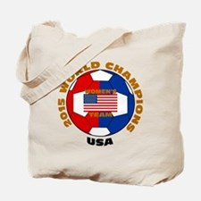 2015 World Champions Tote Bag