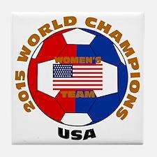 2015 World Champions Tile Coaster
