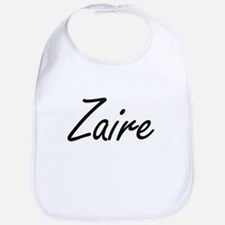 Zaire Artistic Name Design Bib