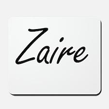 Zaire Artistic Name Design Mousepad