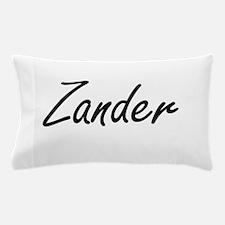 Zander Artistic Name Design Pillow Case