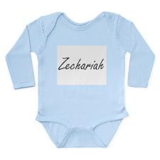 Zechariah Artistic Name Design Body Suit