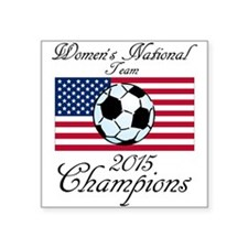 2015 Champions Women's National Soccer Sticker