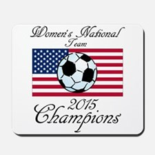 2015 Champions Women's National Soccer Mousepa