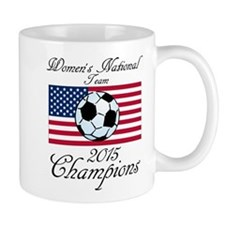 2015 Champions Women's National Soccer Team Mugs
