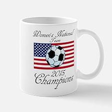 2015 Champions Women's National Soccer Team Mugs