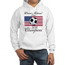 2015 Champions Women's National Soccer Team Hoodie