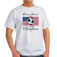 2015 Champions Women's National Soccer Team T-Shir