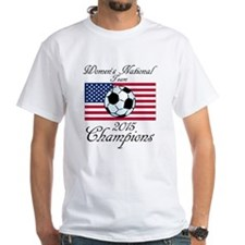 2015 Champions Women's National Soccer Team T-Shirt
