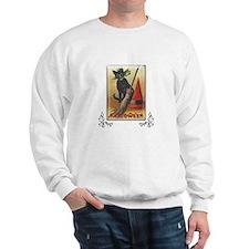 TLK011 Halloween Cat Sweatshirt