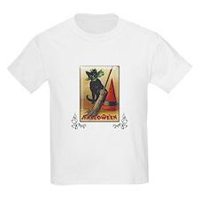 TLK011 Halloween Cat T-Shirt