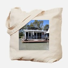 Houseboat on the Murray River, Mannum, So Tote Bag