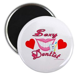 "Sexy Dentist 2.25"" Magnet (100 pack)"